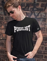 NEW! PUGILIST® Premium Fitted S/S Crew (Black)