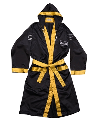 PUGILIST® Boxing Robe Black/ Gold(Adult)
