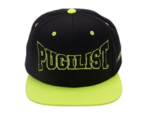 PUGILIST®  'Greatness' Snapback Black/Neon Green