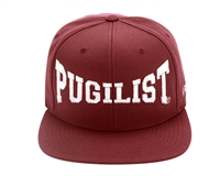 PUGILIST®  'Greatness' Snapback Burgundy/ Light Gray