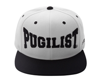 PUGILIST®  'Greatness' Snapback (Off White/Black)