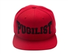 PUGILIST® 'Greatness' Snapback (Red/Black)