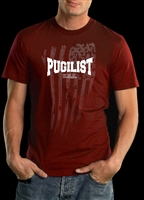 PUGILIST® Faded USA Flag (Red)