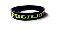 PUGILIST® A Fighter's Nation Wristband Black/Green