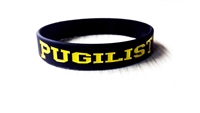 PUGILIST® A Fighter's Nation Wristband Black/Yellow