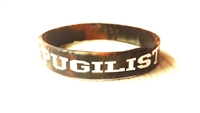 PUGILIST® A Fighter's Nation Wristband Brown Camo