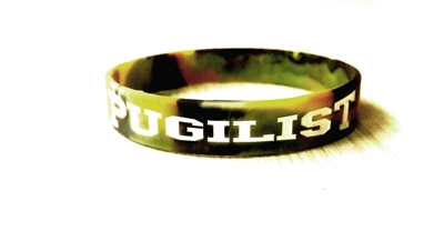 PUGILIST® A Fighter's Nation Wristband Green Camo