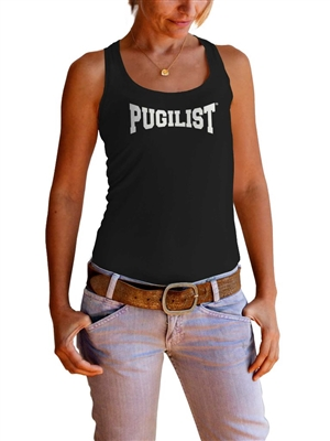 NEW! PUGILIST® Premium S/S Fitted Racerback Tank (Women)
